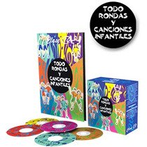 Todo Rondas Y Canciones Infantiles 1 Vol + 5 Cd Clase 10