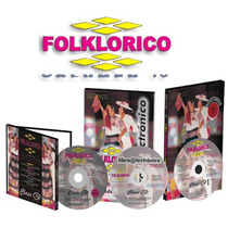 Folklórico Vol Iv : 1 E-book + 1 Dvd + 1 Cd Audio Ed Clase