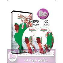 Folclorico Vol 2 1dvd+1cd-audio Didactimedia