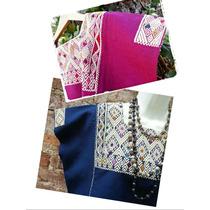 Blusas Artesanales Bordadas En Telar Típicas De Chiapas