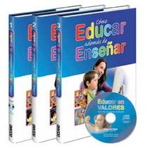 Como Educar Ademas De Enserñar 3 Vols + Cd-rom