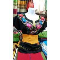 Blusas Artesanales Bordadas A Mano En Chiapas Mod. Exclusivo