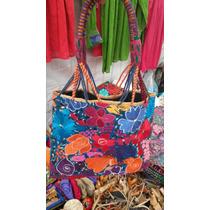 Finas Bolsas Tipicas Artesanales Bordadas A Mano En Chiapas