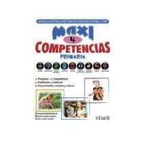 Libro Maxi Competencias 4 Primaria