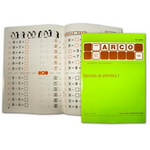 Cuaderno Ejercicios De Aritmética 1 6+ Método Arco Eduke