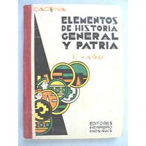 Libro De Primaria. Elementos De Historia General