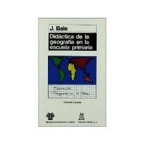 Libro Didactica De La Geografia En La Escuela Primaria