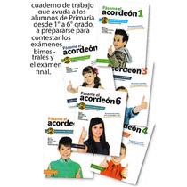 Libros Pasame El Acordeon1°2°4°5°y6° Primaria (mayoreo5pzs)