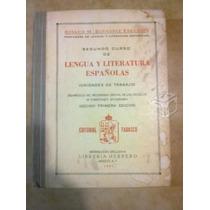 Lengua Y Literatura Españolas Rosario M, G,