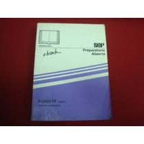 Inglés Iv. Libro. Cuarto Semestre