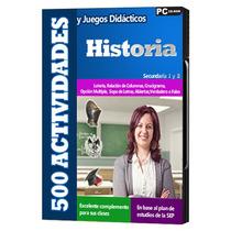 500 Actividades Y Juegos Didácticos Secundaria Historia 1 Cd