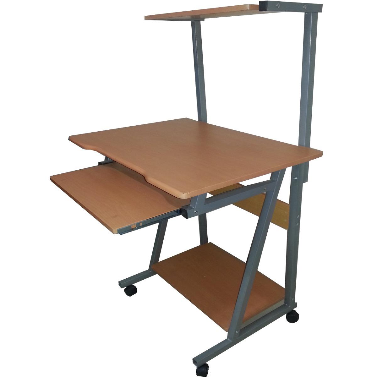 Escritorio multinivel computadora pc ciber madera for Muebles de escritorio precios