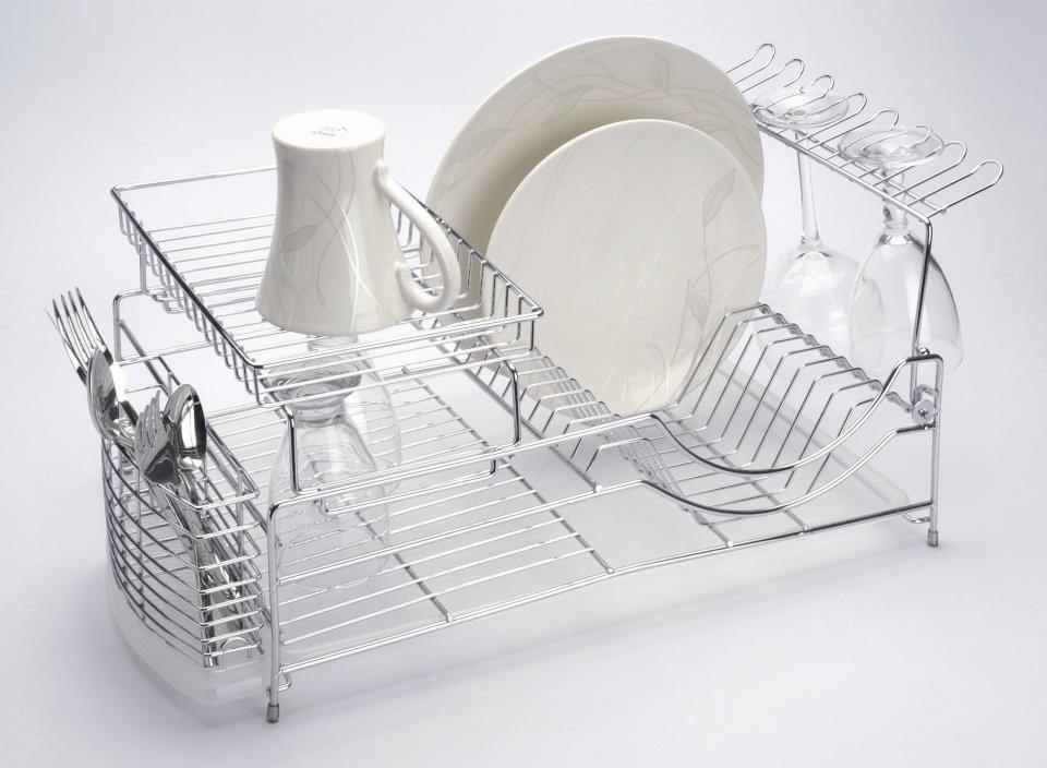 Escurridor de trastes de acero inoxidable regal ccoenvios for Trastes de cocina