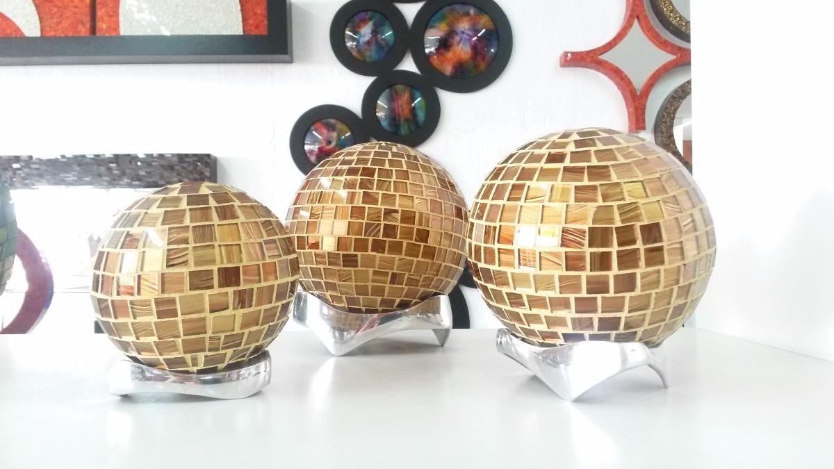 Esferas de vitral con cristal soplado decorativas 550 for Bolas de cristal decorativas