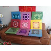 Mandala Portavasos, Imanes, Cuadros Decorativos Mandalas