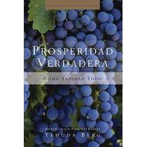 Ebook Prosperidad Verdadera Enseñanzas De La Kabbalah Yehuda