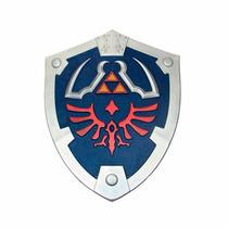 Escudo The Legend Of Zelda Real Hylian Shield Link Espada Fx