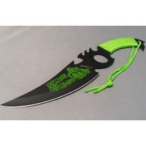 Cuchillo De Campismo Full Tang Killer Zombie Hunter C/ Filo