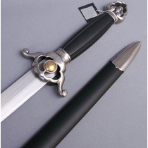 Espada Jian Funcional Tai Chi Cuchilla Rigida Cas Hanwei
