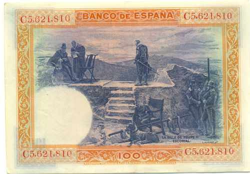 España 100 Pesetas 1925