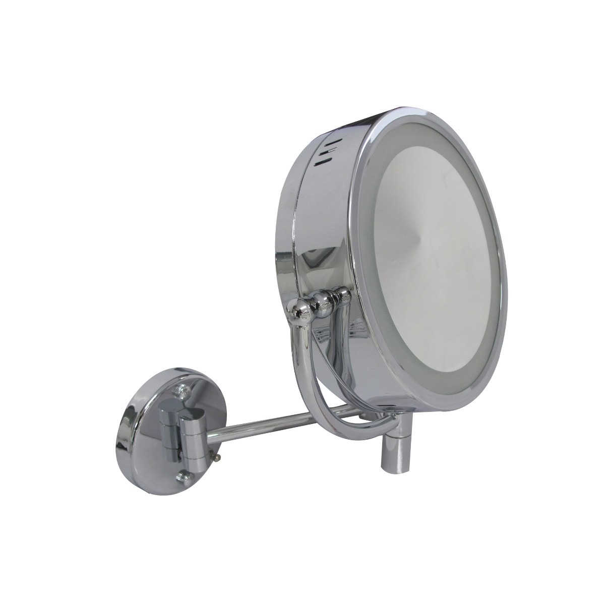 Espejo de aumento lujo helvex 2 vistas con luz envio for Espejo aumento con luz
