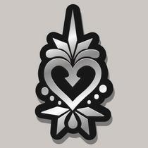 Corazón En Espejo, Minimalistas,creativos Y Originales,