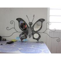 Espejo Mariposa Forjado A Mano Herreria Artistica