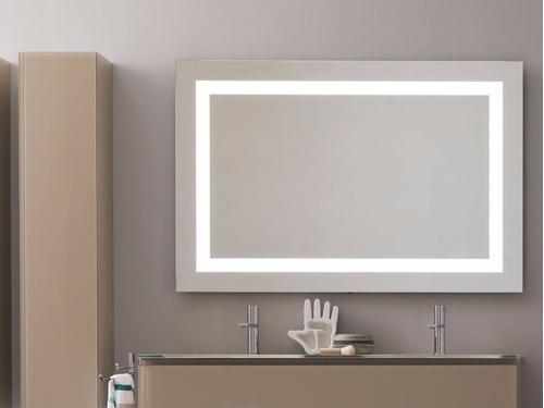 Iluminacion Para Baños Mercado Libre:Espejos Iluminacion Marco De Luz Led Interior 110x130cm – $ 9,19000