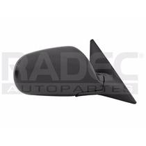 Espejo Honda Accord 1990-1991-1992-1993 Electrico Negro Der
