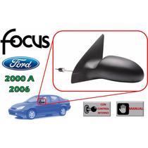00-06 Ford Focus Espejo Lateral Manual Lado Izquierdo