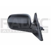 Espejo Honda Accord 98-02 2 Y 4 Puertas C/control Negro Der
