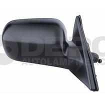 Espejo Honda Accord 1998-2002 2/4ptas Der Con Control Negro