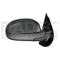 Espejo Chevrolet Cheyenne 2007-2008-2009-2010 Manual Negro