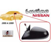 95-99 Nissan Lucino Espejo Lateral Electrico Lado Izquierdo