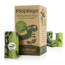 Poop Bags Caja Con 8 Rollos De 15 Piezas Para 2 Meses De Uso