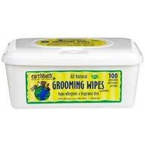 Earthbath Todos Naturales Grooming Wipes Hipoalergénico, 10