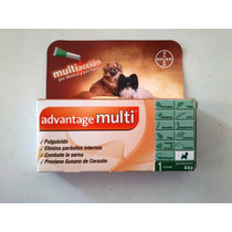 Pipeta Advantage Multi,antipulgas,sarna Y Parasitos Internos