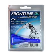 Frontline Topspot Perros De 20-40 Kg Antipulgas Y Garrapatas