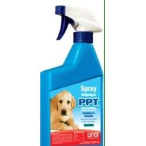 Spray 400ml Antipulga Piojo Garrapata Perro Gato Puppy E4f