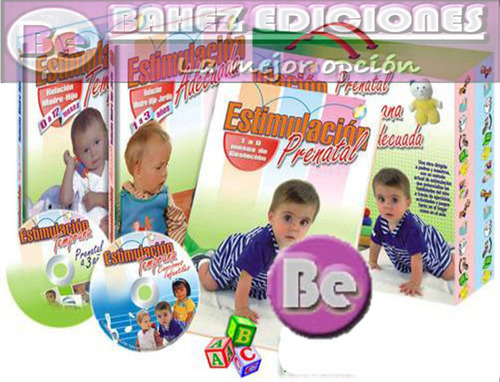 Estimulacion Temprana 3 Vols + Dvd + Cd Zamora