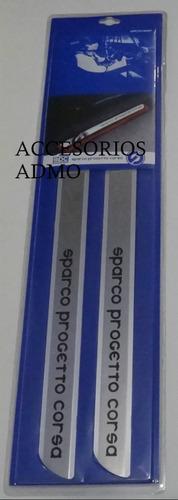 Estribo Lujo Interior Sparco Aluminio Para Auto
