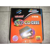 Porta Cd ,discos 216 Discos De Nylon