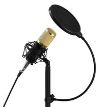 Filtro Anti Pop Para Microfono Soporte Cuello Flexible