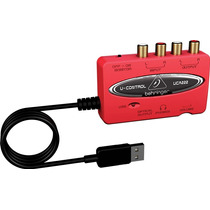 Interface Usb Behringer Uca 222 Para Grabar,software Gratis