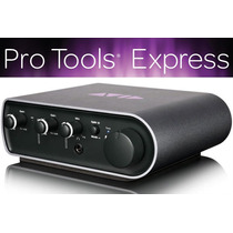 Avid Mbox 3 Mini Interface Profesional Con Protools Express