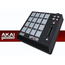 Akai Mpd 18 Controlador Midi De Software, Sampler, 16 Pads,