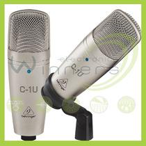 Microfono De Condensador Behringer C-1u Con Usb E Winners