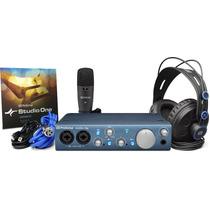 Kit De Grabación Audiobox Itwo Studio Presonus