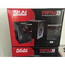 Monitores Estudio Rpm3 Akai Nterface Audio Gratis Audifonos