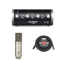 Interface Alesis Io Hub + Microfono Mxl 2008+ Cable 20ft